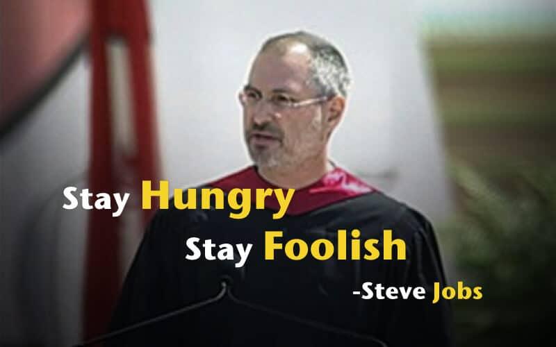 求知若飢 虛懷若愚