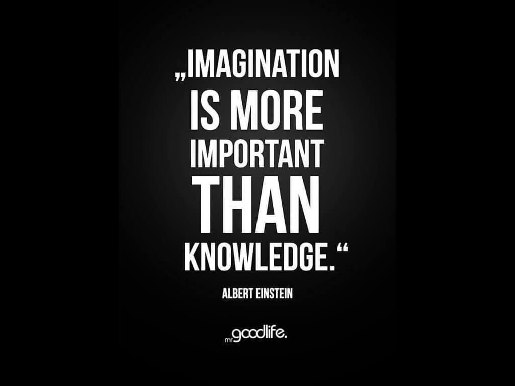 想像力,比知識重要