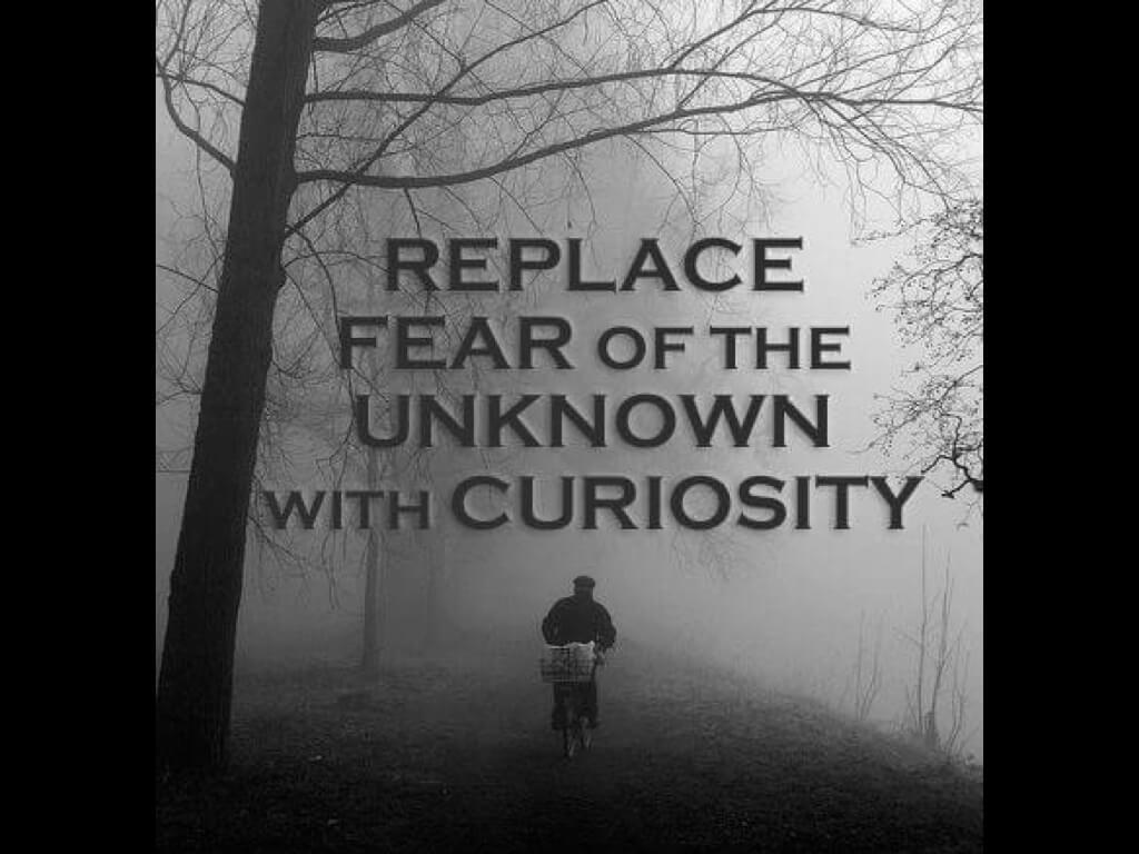 面對沒走過的路,以好奇取代害怕