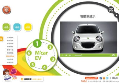 2010年 to-be M'car 網路品牌行銷