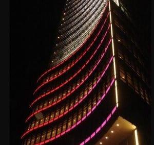 2004年 台新金控⼤樓