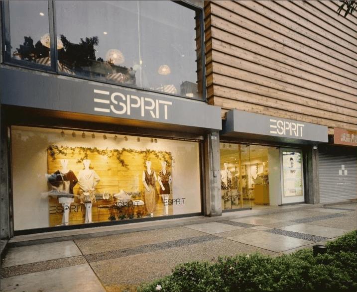 1997年 ESPRIT台灣