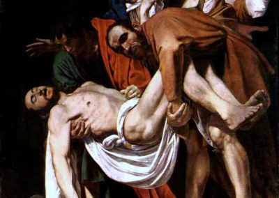 基督下葬,1602年-1603年