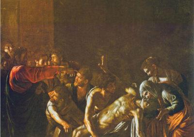 拉撒路的復活,1609年