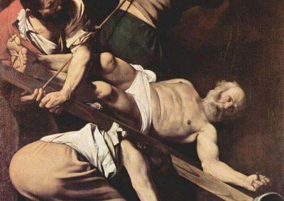 聖彼得受難,1601年